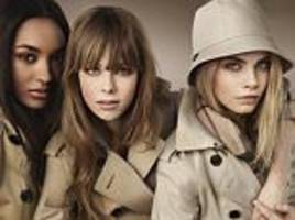 Burberry sales jump by 9% as ponchos, trench coats and scarves fly off the shelves