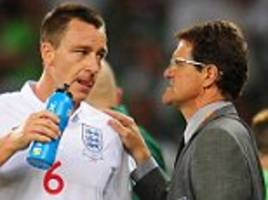 john terry should never have been stripped of england captaincy, insists fabio capello