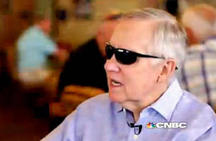Harry Reid Knocks Limbaugh for Suggesting He Got Beaten Up
